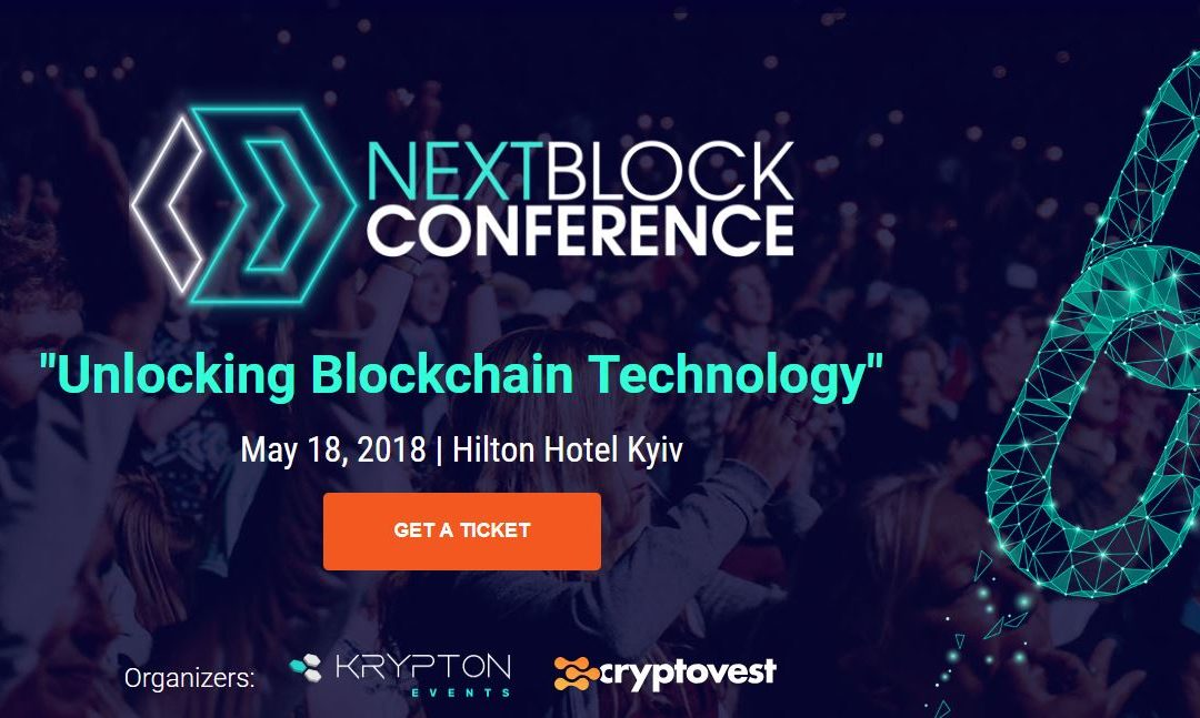 Next Block Conference 2018 Kiew